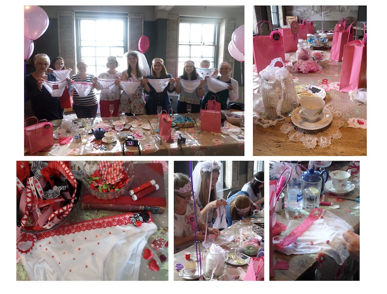 knicker making craft hen do