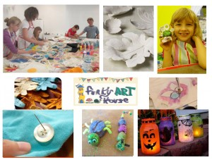 Kids Childrens Art Craft Holiday Workshop Club Halloween