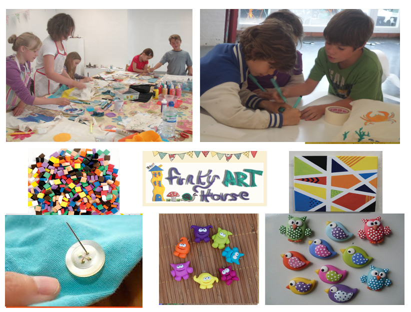 Art Craft Workshop Half Term Kids
